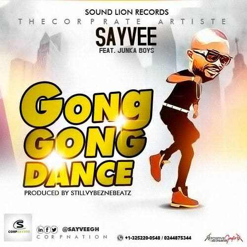 """Watch out for the """"Gong Gong Dance"""" from SayVee featuring Junka Boys"""