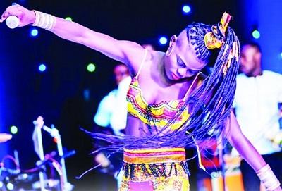 Wiyaala appreciates Yvonne Chaka Chaka