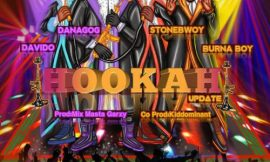 It's the Hookah (Remix) from Danagog featuring Davido, Stonebwoy and Burna Boy