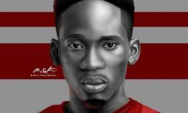 """Mr Eazi titles this one """"Rotate Sketch"""""""