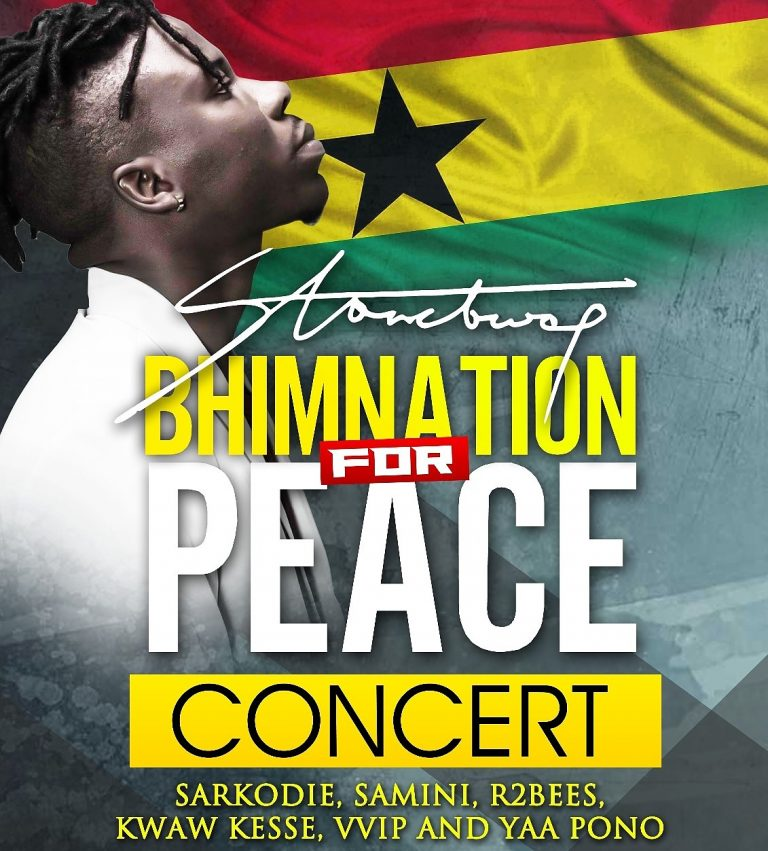 Next big concert by Stonebwoy, this October