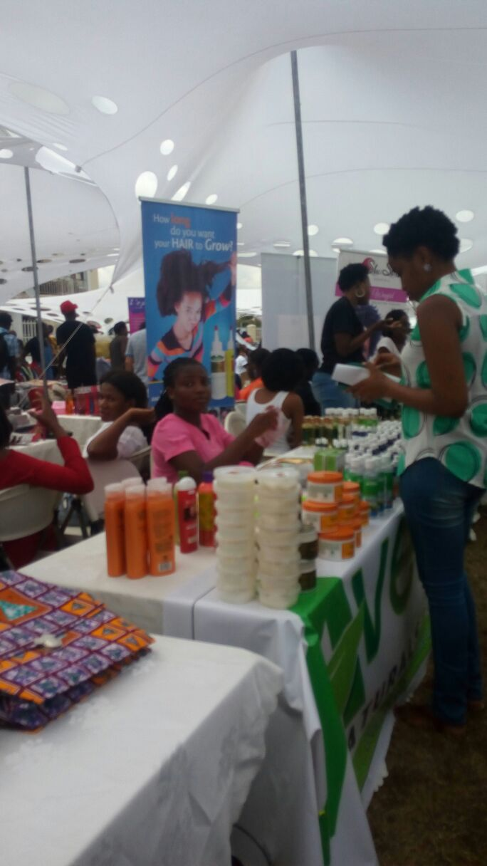 Accra goods market -Fashion food and music