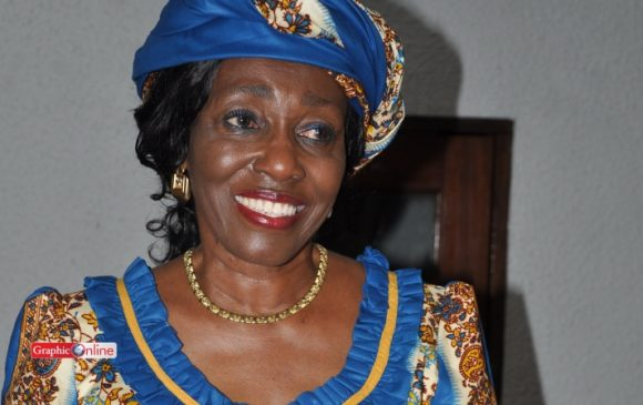 Video: Nana Konadu takes it to the dance floor