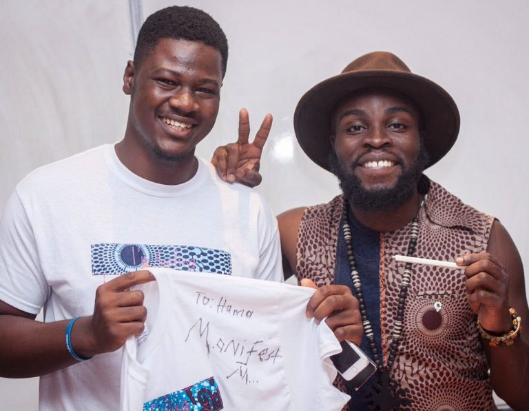 M.anifest talks music at Ashesi University