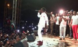 Shatta Wale at Tamale NDC campaign
