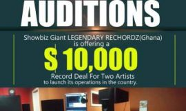 $10,000 Record Deal with Legendary Rechordz