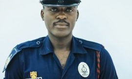 Gladstone Ameleke, a police officer out with 'Election'