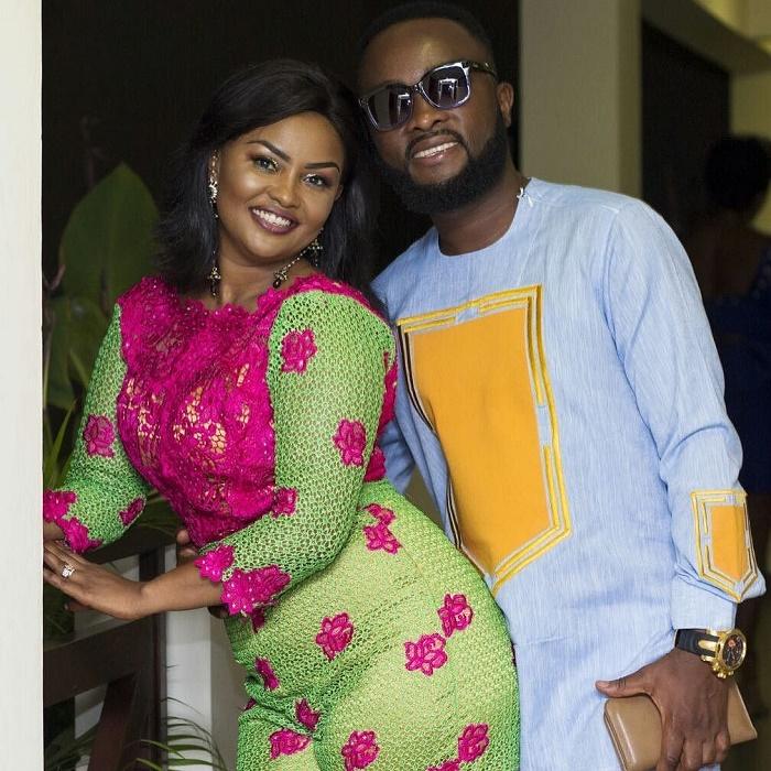 Nana Ama McBrown and husband on new looks