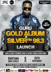 "November 26 is set for the ""Gold Album"" launch, Guru"