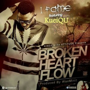 'BROKEN HEART FLOW' single from 1fame featuring kqueiQu
