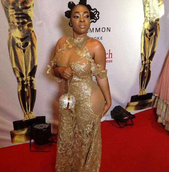 Is Moesha Boduong naked?