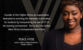 Peace Hyde unveiled as Judge for Chivas Regal – The Venture