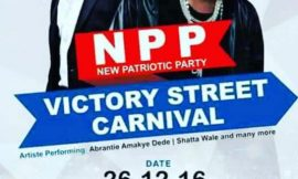 NPP Victory Street Carnival with SHATTA WALE