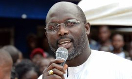 Faces of Africa – King George Weah