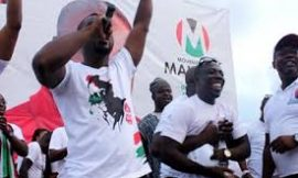 Video: Abeiku Santana in full gear at NDC rally