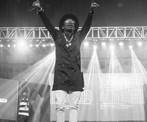 Shatta Wale Storms The 3 Music Awards