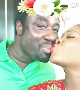 Video: Mercy Johnson and Husband in a loving kiss