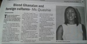 Lecturer calls for Ghanaian and foriegn cultural blend