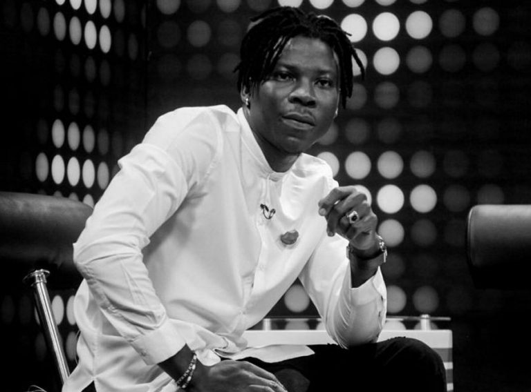 Stonebwoy provides a replacement name to 'Wetin We Gain' star, Victor AD