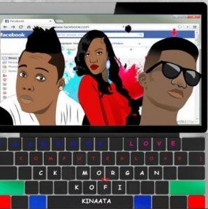 'Facebook love' remix from CK Morgan featuring Kofi Kinaata