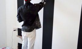 Meet Mathew Y Delay, A wall decorator