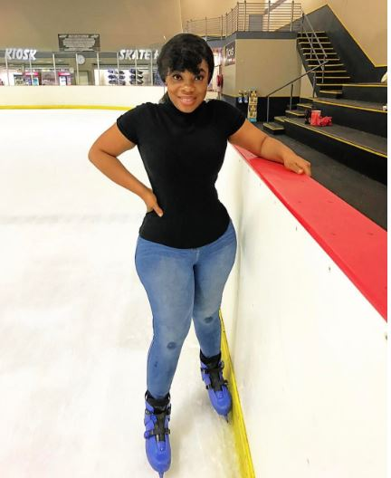 Moesha warned from skating