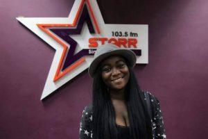 Kofi Adjorlolo grabs 21-year-old Nikita Stephens