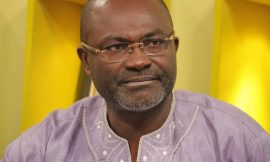 Kennedy Agyapong goes live on Instagram