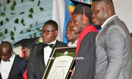 Asamoah Gyan receives honorary doctorate degree