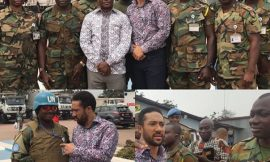 "Majid Michel share the ""Word Of God"" to the Army in Congo"