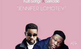 Jennifer Lomotey video teaser, Kurl Songx feat. Sarkodie