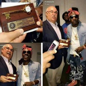 Key to the city of Worcester, US – Shatta