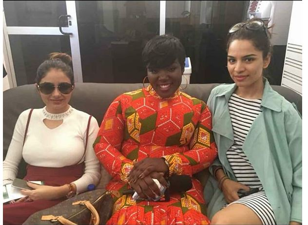 Kumkum Bhagya stars finally in Ghana