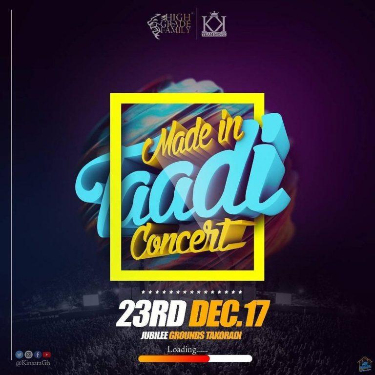 History will be made on my 23rd Dec Concert – Kofi  Kinaata