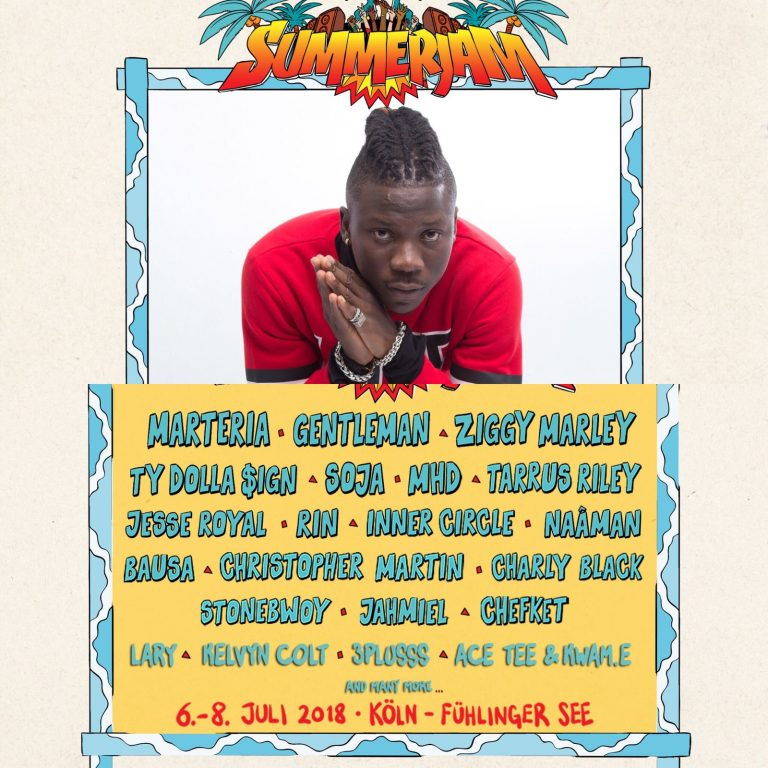 StoneBwoy to rock on Biggest Reggae Festival Stage In Europe