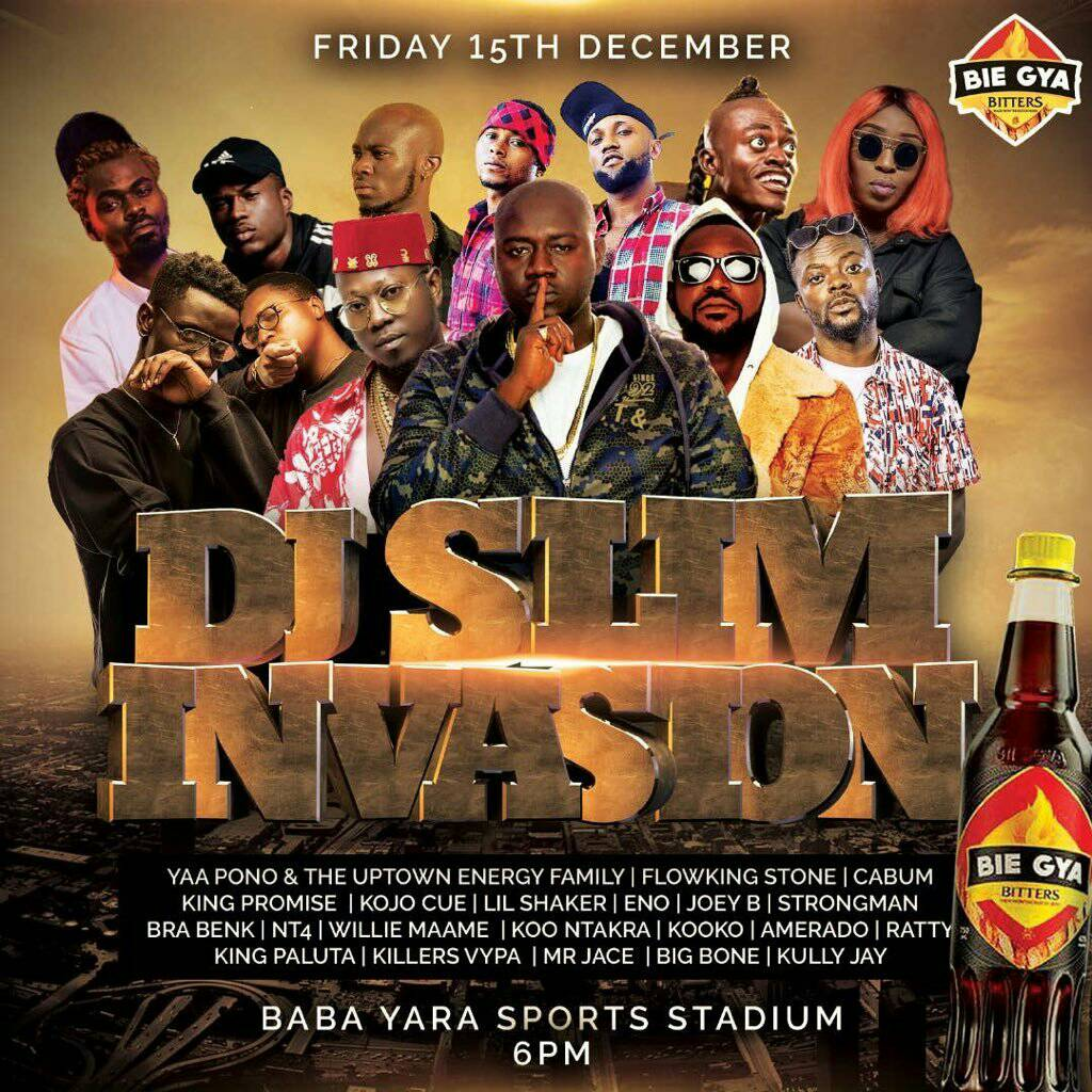 Dj Slim shuts Oseikrom down on 15 Dec.