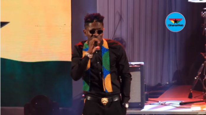 Shatta Wale overwhelms patrons of Rapperholic as MC of the Concert