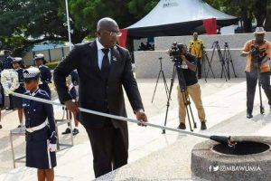 Vice President: Dr. Bawumia Mourns with Ghana Police