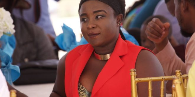 Breaking :Young Actress Maame Serwaa Just Lost Her Mom