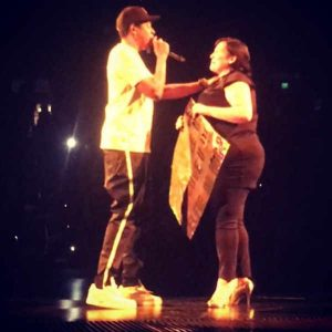 Jay-Z Stops Concert to Bring Up Woman Who Beat Cancer Twice to the Stage