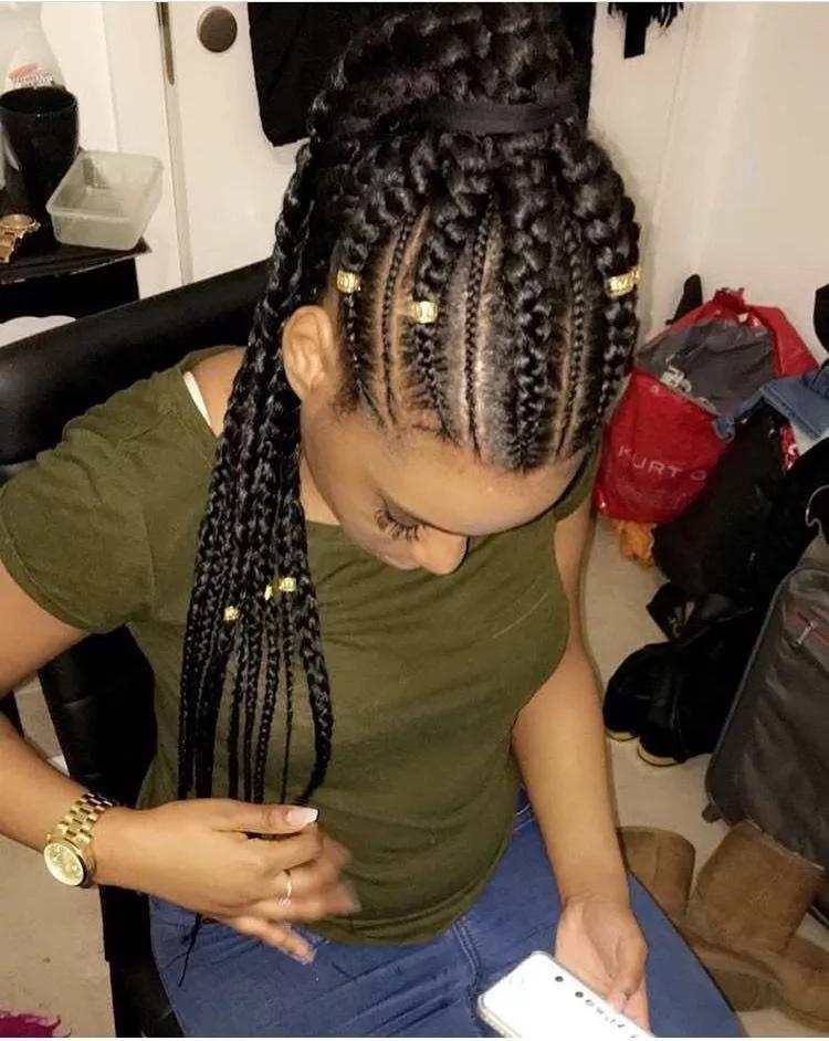 Ghana's top braided hairdos 2017/2018
