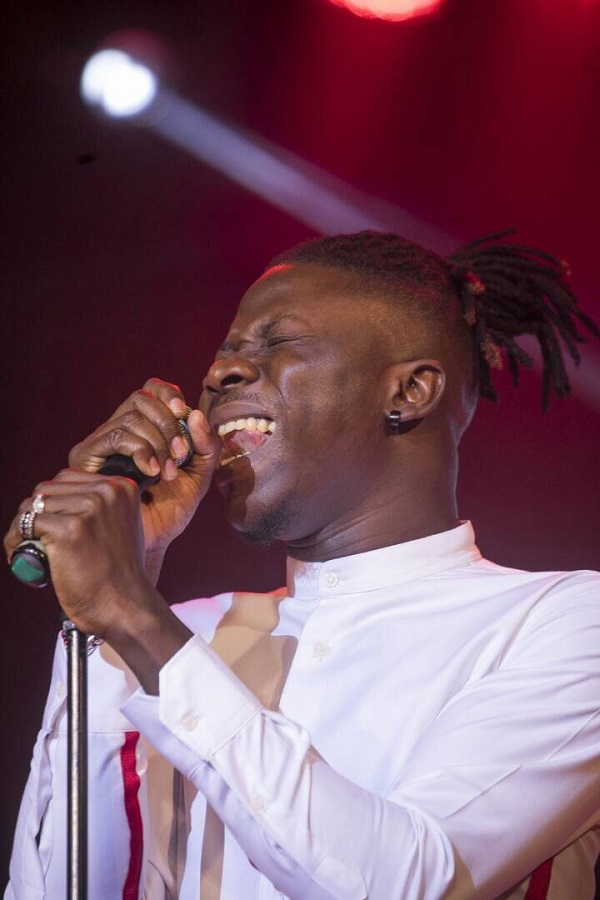 Stonebwoy names the artiste whose shine in 2017 really scared him
