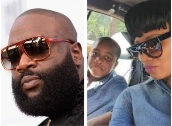Rick Ross blasts back at one of his Babymamas who called him out for 'neglecting' his son. (Videos)
