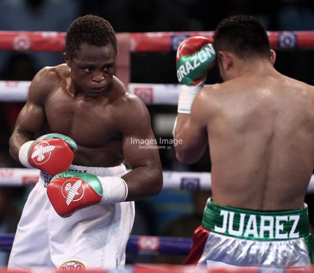 Isaac Dogboe stops Cesar Juarez in fifth round