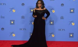 Oprah Winfrey: A new day is on the horizon where nobody has to say 'Me Too'