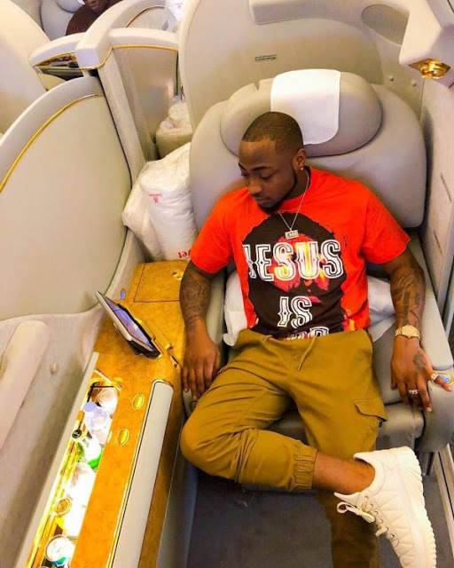 Davido Buys Himself A 2018 Bentley And It's So Sleek
