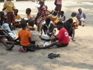 Help provide learning materials to children of Dome Community In Afram Plains