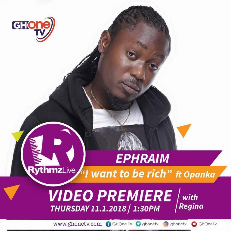Watch Video:Ephraim – I Wanna Be Rich (Feat. Opanka)