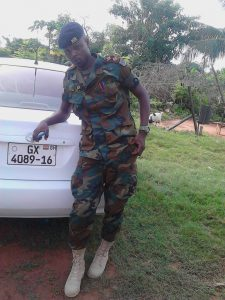 Video:Fake Soldier Busted in Nsawam