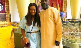 Jackie Appiah congratulates her 'brother' George Weah